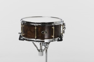 Burl Walnut Monarch 6.5 x 14 Snare drum